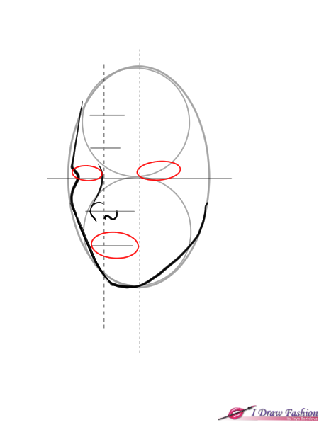 450x600 Draw A 34 View Face I Draw Fashion