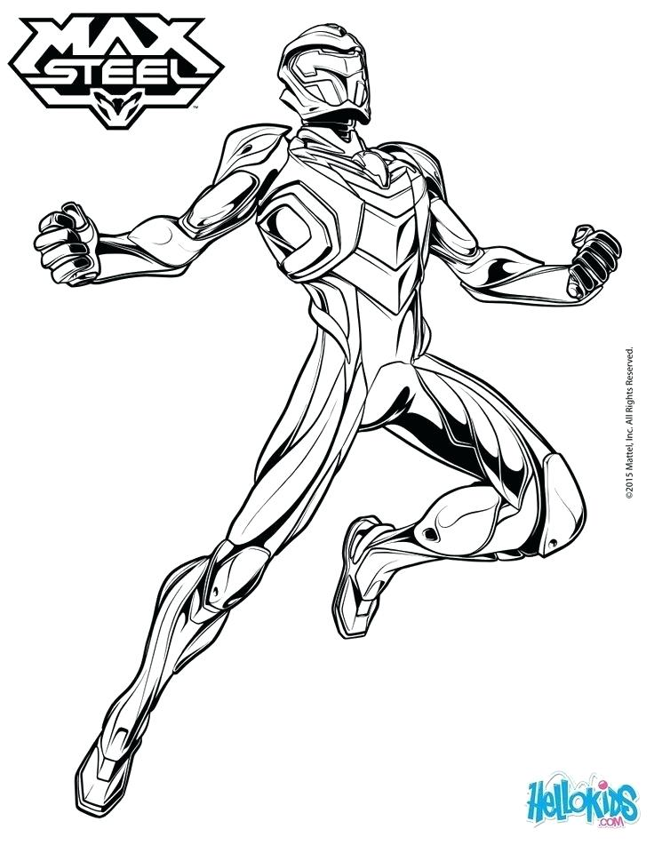 736x951 Man Of Steel Coloring Pages Max Steel Steel Poses Without His