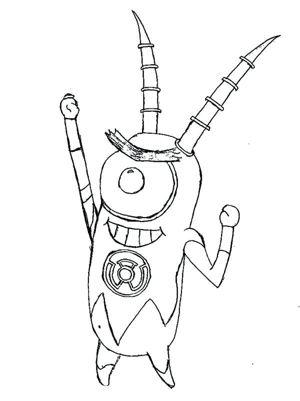600x800 Man Of Steel Coloring Pages Robot Plankton Coloring Page Lego Man