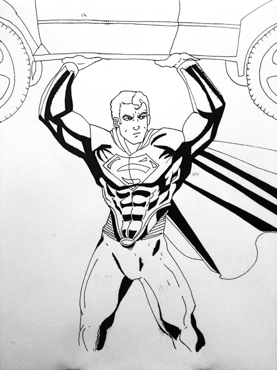 900x1200 Man Of Steel Black And White By Knightrogue