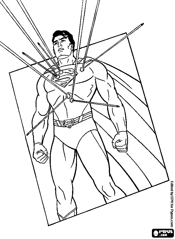 614x840 Man Of Steel Coloring Pages