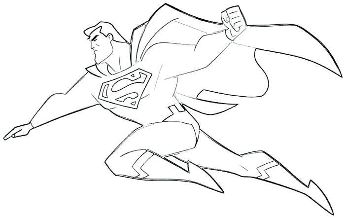 700x442 Man Of Steel Coloring Pages Coloring Pages Of Superman Superman