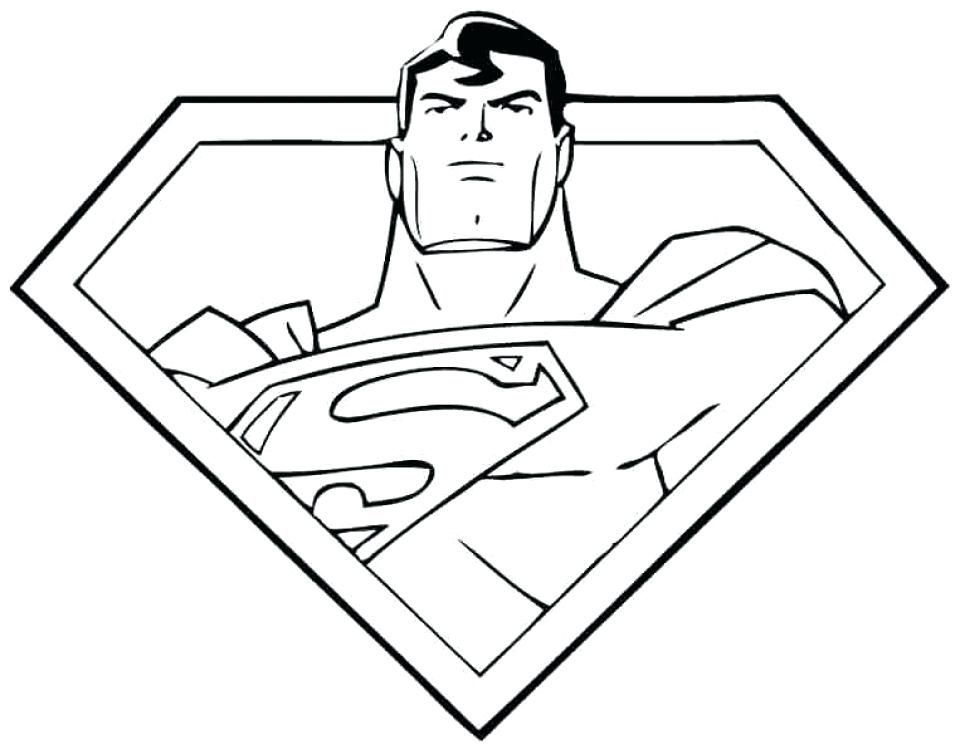 960x754 Man Of Steel Coloring Pages Football Player Coloring Pages
