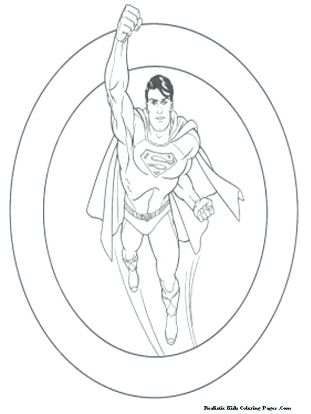 640x853 Man Steel Coloring Pages Free Printable Superman The Man