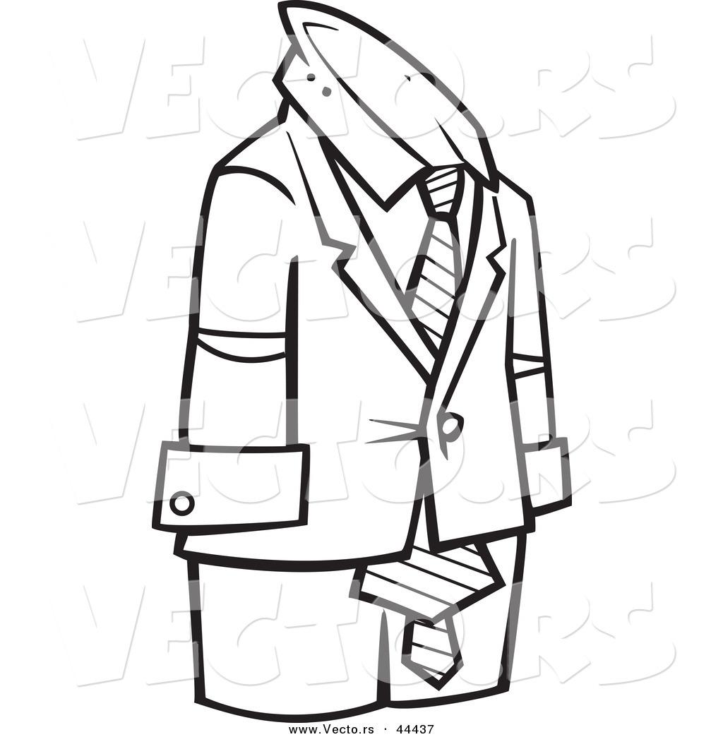 1024x1044 Suit Clipart Outline