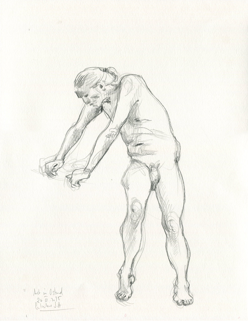 1000x1296 Male Nudity 5 Original Pencil Drawing Male Nude Man Art