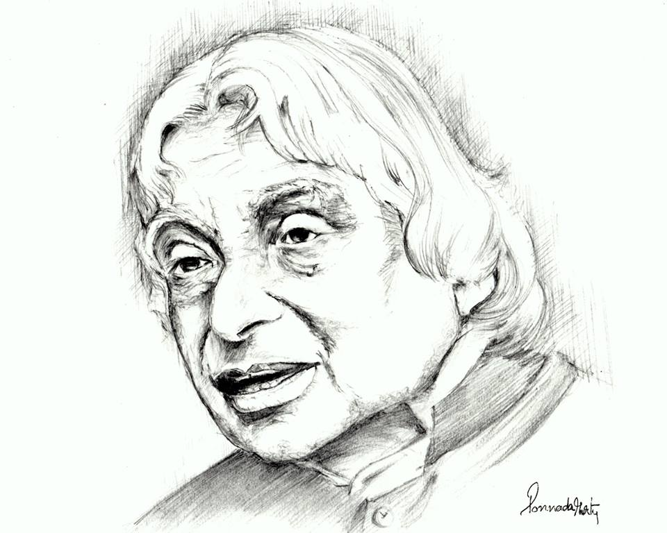 960x768 Sketches And Drawings Abdul Kalam