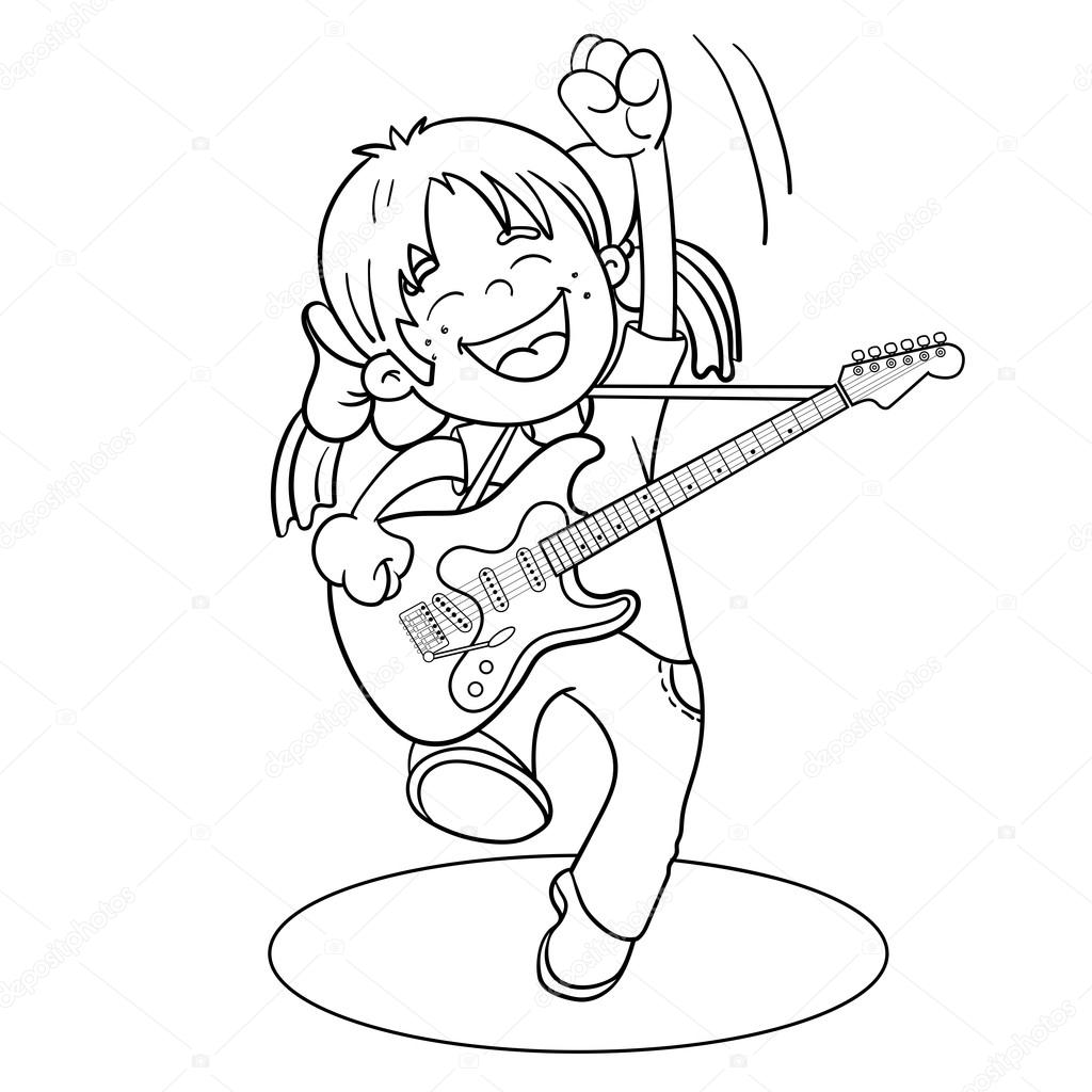 1024x1024 Playing Guitar Stock Vectors, Royalty Free Playing Guitar