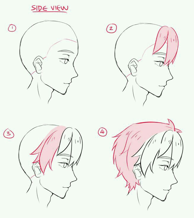654x734 Pin By Whitney Rowe On Hair Ideas Draw, Anime