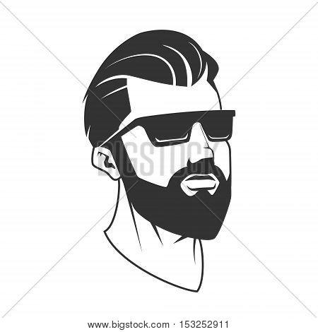 450x470 Man Beard Hipster Barbershop Vector Amp Photo Bigstock