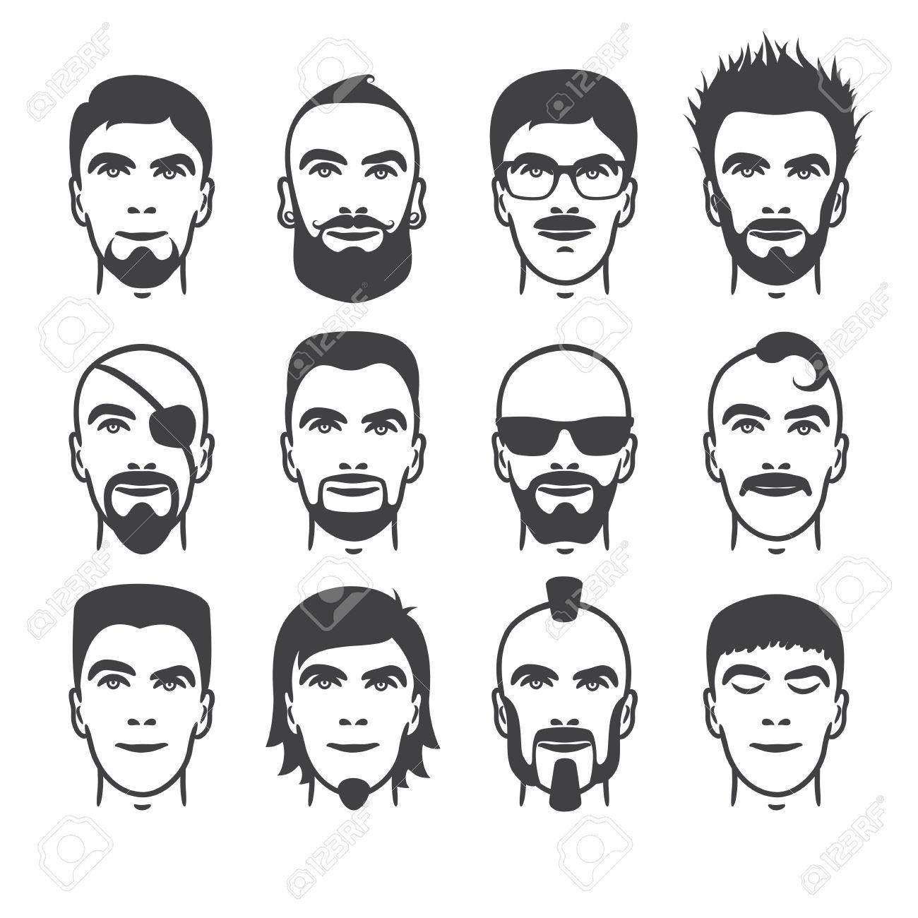 1300x1300 Comic Drawing Man Beard Face