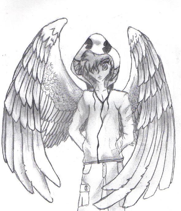 590x687 Boy With Wings By Tamaraariel
