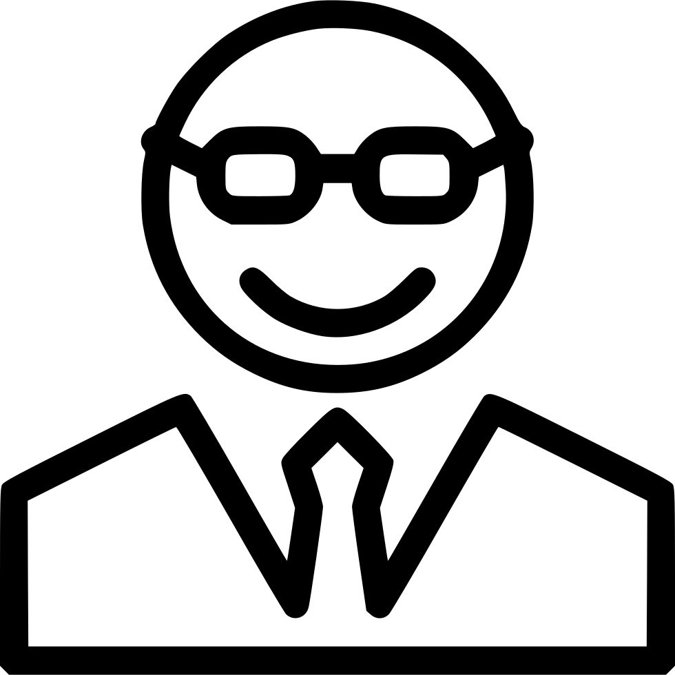 980x980 Teacher Avatar Character Professor Manager Boss Svg Png Icon Free