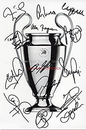 298x450 Limited Edition Manchester United 1999 Champions League Squad