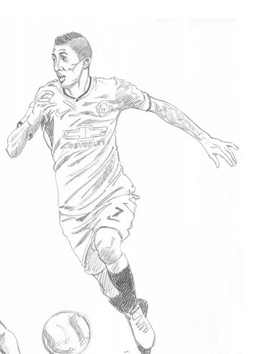 896x1227 Manchester United Sketches