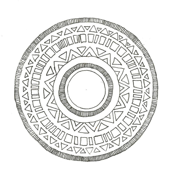 580x580 How Amp Why To Draw Mandalas