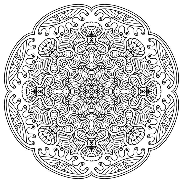 700x700 Mandala Art Therapy