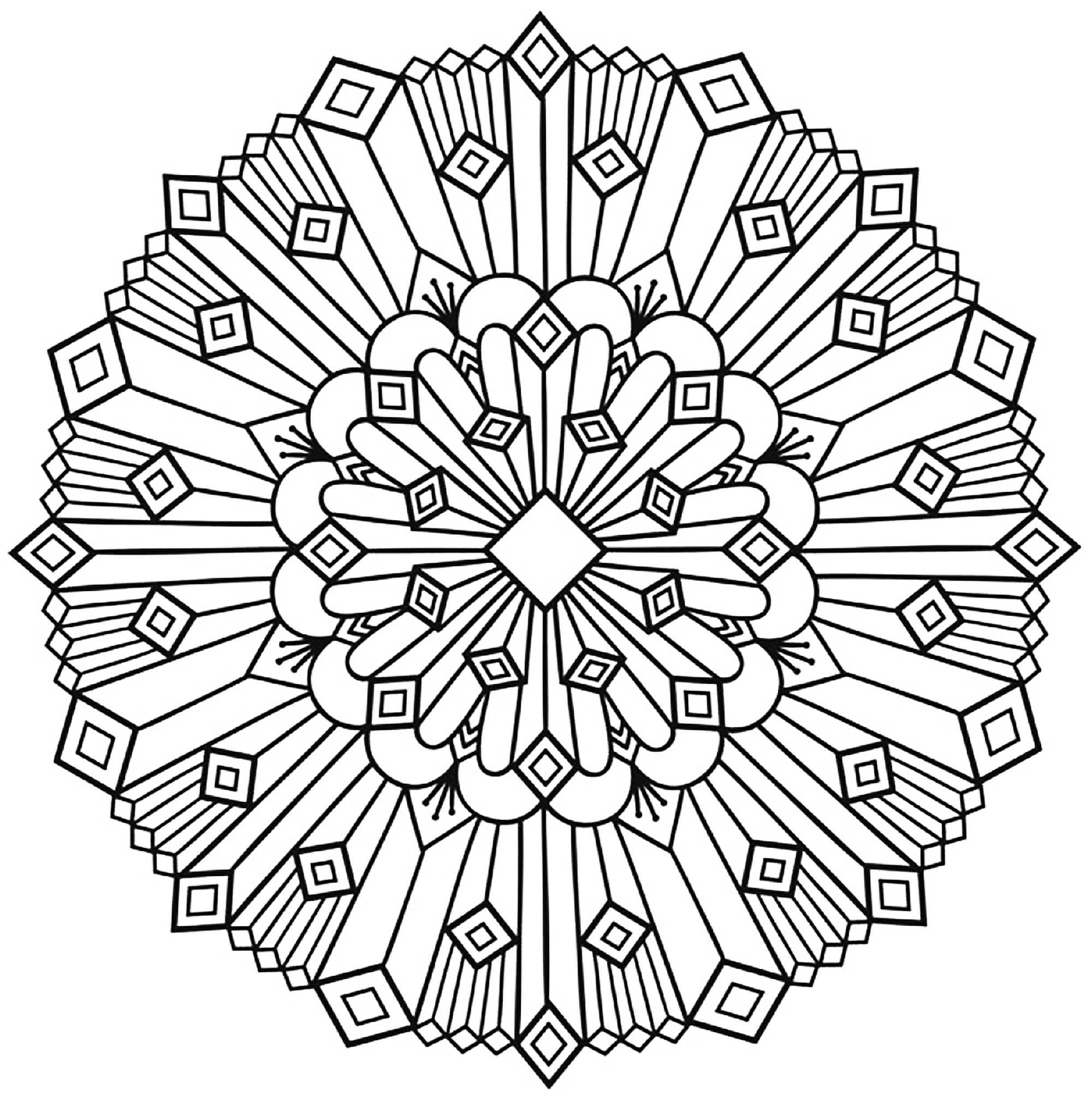 2000x2017 Mandala Art Deco Simple Mandalas