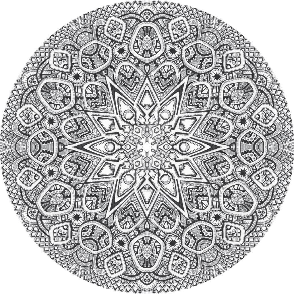 1024x1024 Mandala Drawing 20 By Mandala Jim