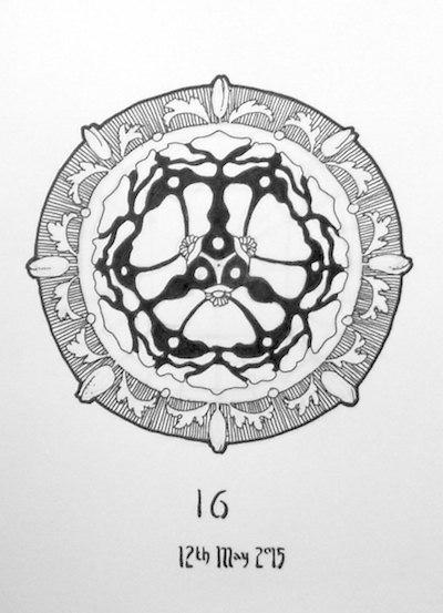 400x553 May Drawing Practice Mandalas