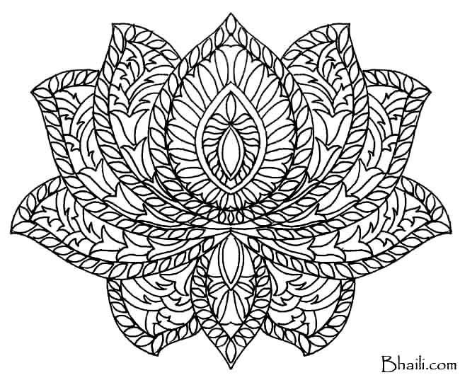 Mandala Art Drawing At GetDrawings