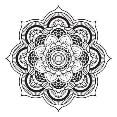 400x400 I Want To Draw My Own Mandala Designs Soon. Ink