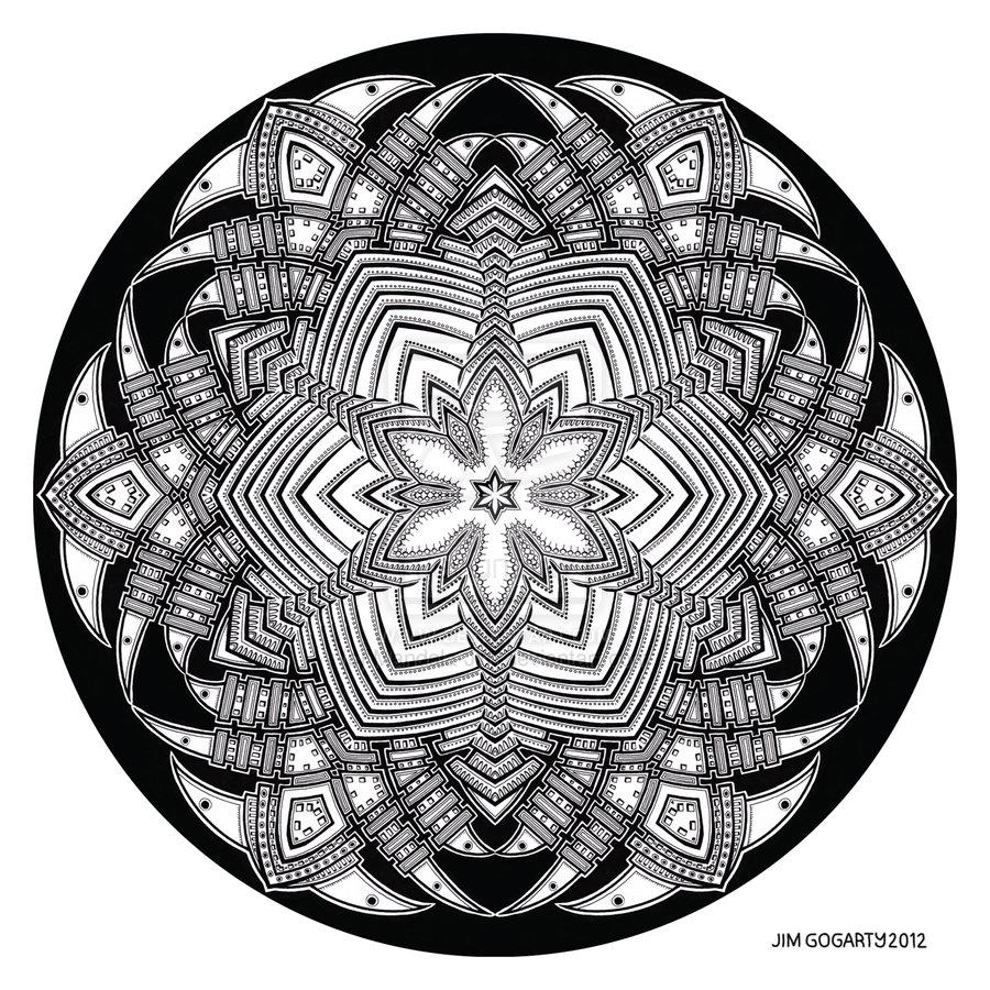 900x900 Mandala Drawing 40 By Mandala On @
