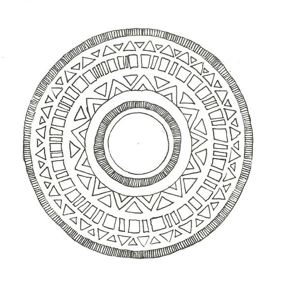 Mandala Designs Drawing