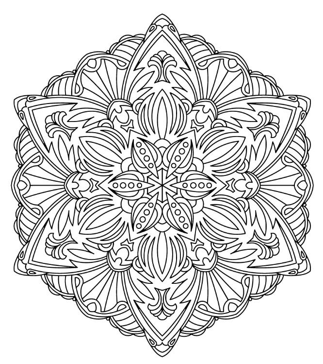 666x749 Pin By Sherrilldavidson On Mandalas Mandala