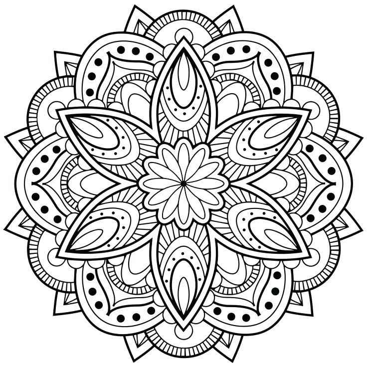 Mandala Designs Drawing At GetDrawings
