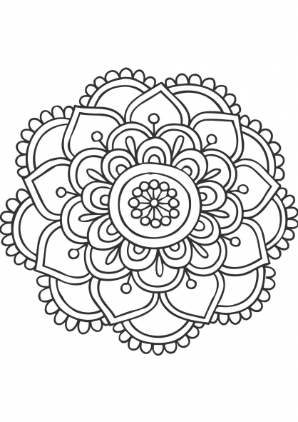 The Best Free Mandalas Drawing Images Download From 458 Free