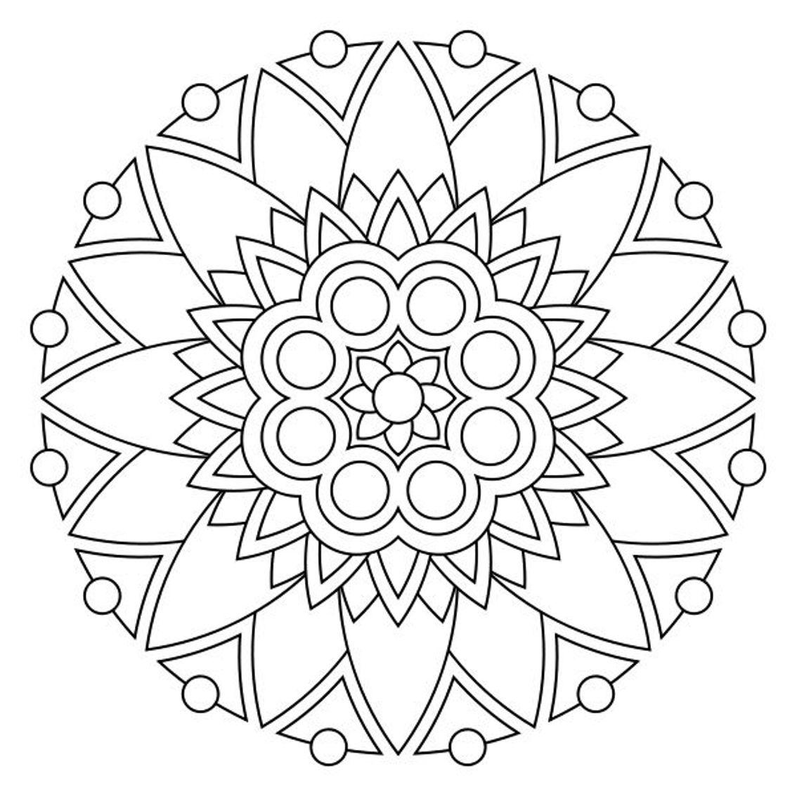 1134x1134 Flowers Mandalas