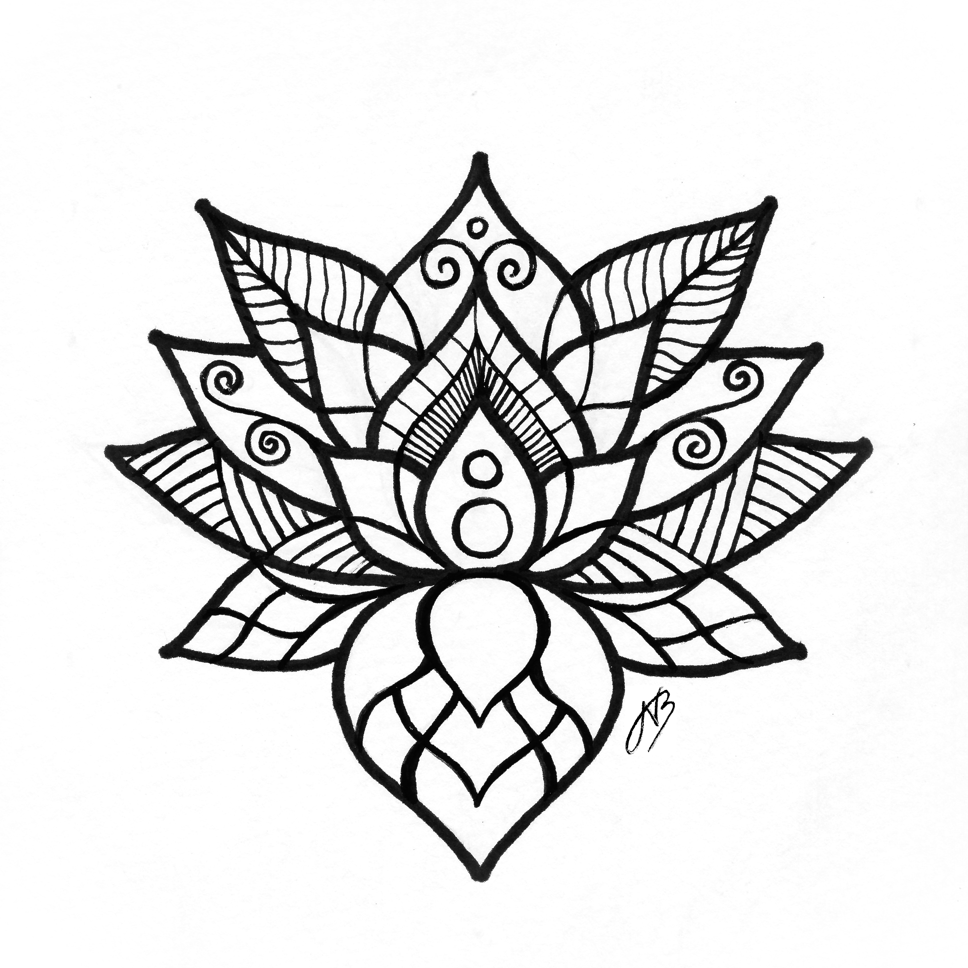 Line Drawing Mandala : Mandala drawing at getdrawings free for personal use