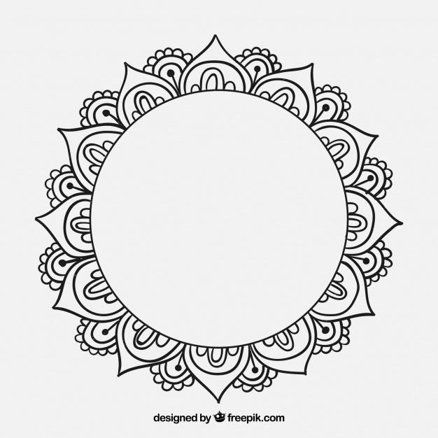 626x626 Mandala Draw Vectors, Photos And Psd Files Free Download