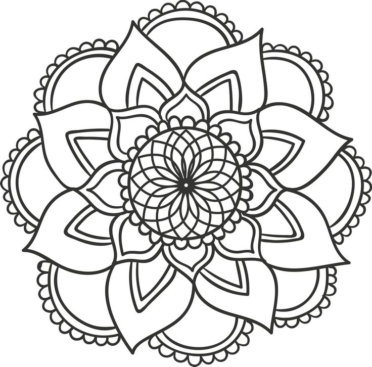 736x726 22 best Mandala drawing images on Pinterest Adult coloring