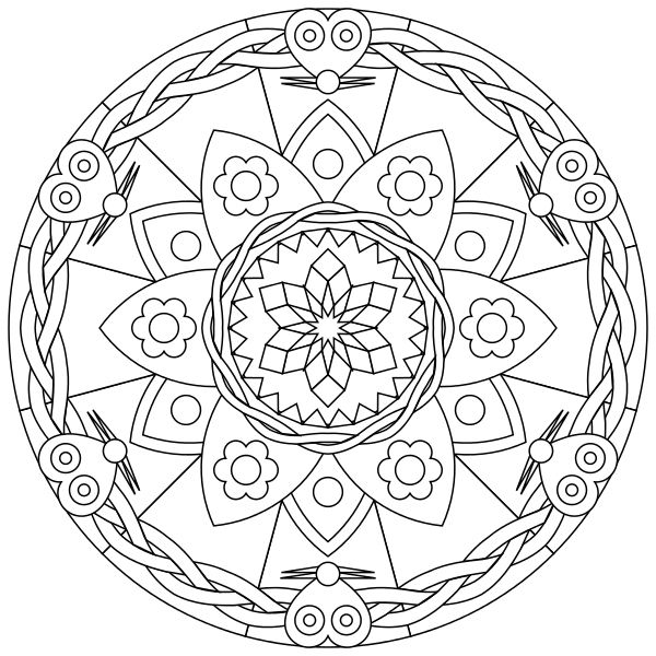 600x600 The Art of Mandala How to Relieve Stress While Drawing