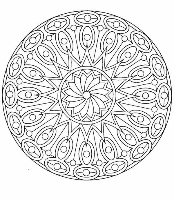 600x686 Drawing Mandala Christmas Picture Coloring Pages Best Place to Color