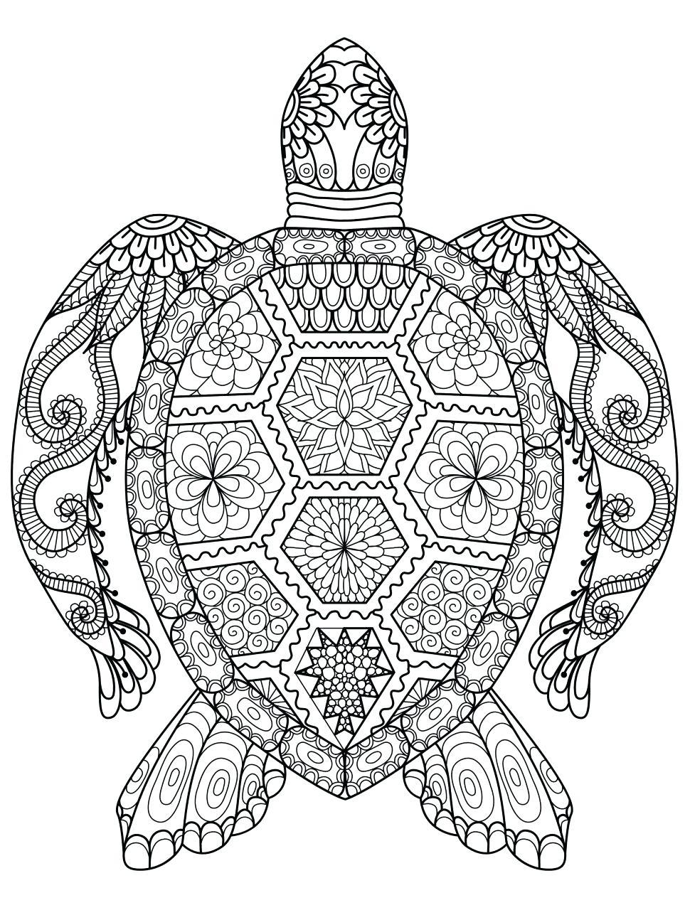 Mandala Drawing Animals At GetDrawings