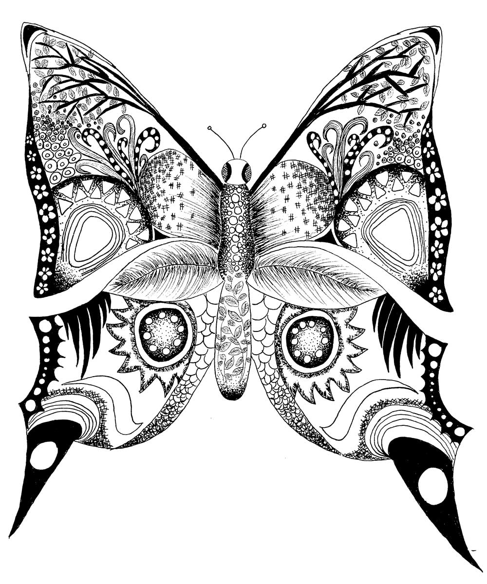 1000x1200 Free Butterfly Printables Drawing Alaina