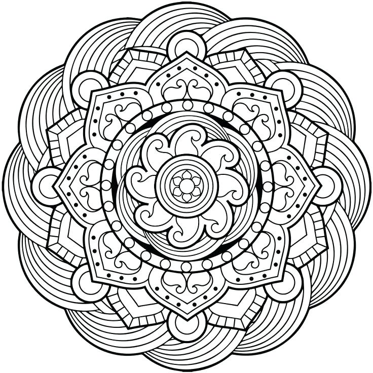 736x736 Mandala Coloring Pages For Adults Coloring Book Colors A Mandala