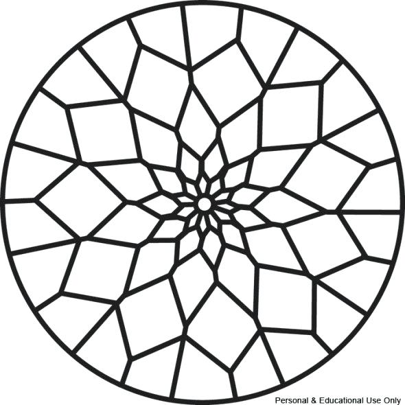 590x590 Easy Coloring Pages Free Printable Mandalas Website With Photo
