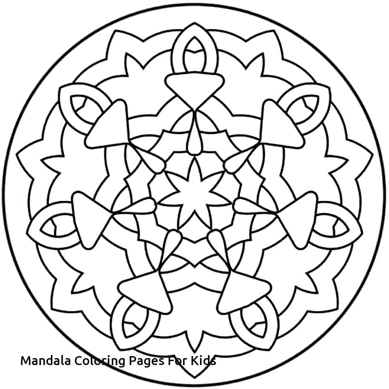 780x780 Kids Mandala Coloring Pages As Coloring Pages Of Mandalas Coloring