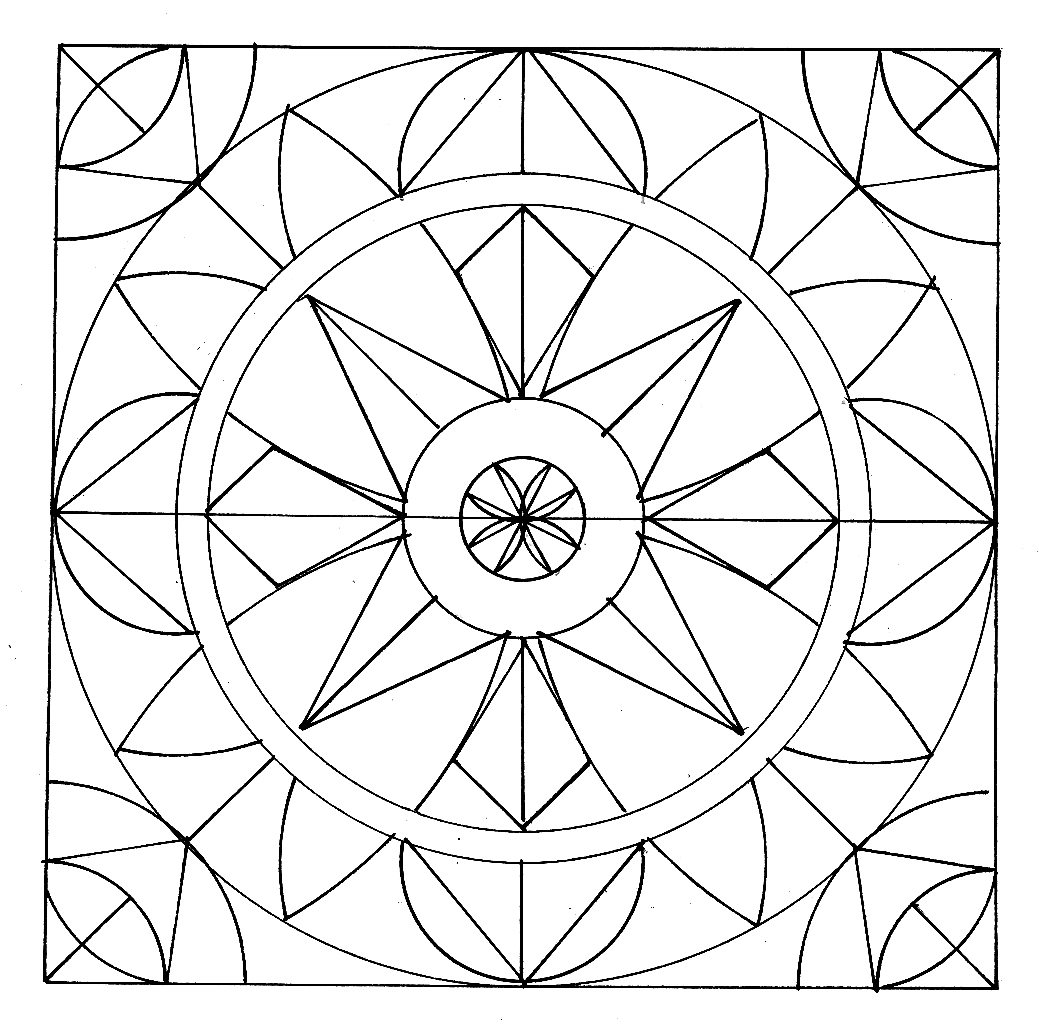 1039x1025 Mandalas For Kids