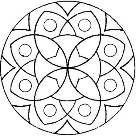 441x440 Unique Mandala Coloring Pages For Kids 91 For Download