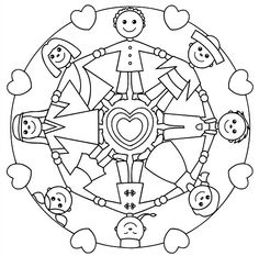 236x233 Holding Hands Mandala For Kids Httpglad.isarticlekids