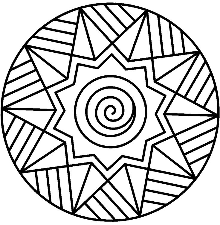 736x752 Mandalas To Print And Color Mandala Coloring Pages (11