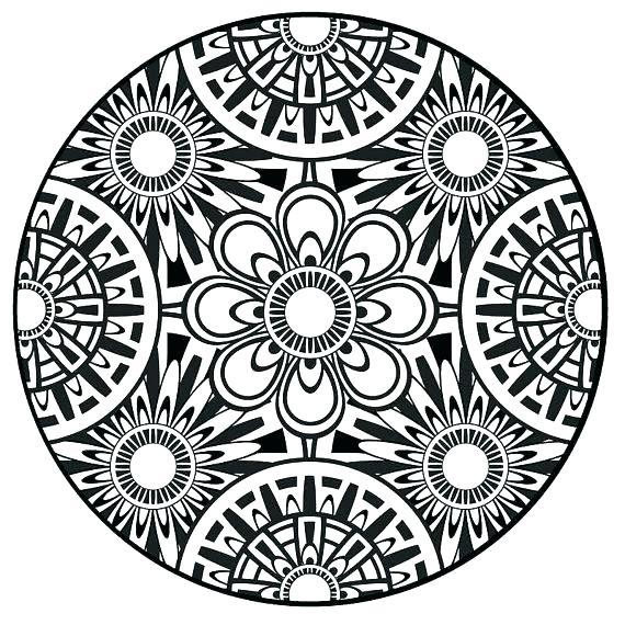 570x570 Online Mandalas Coloring Pages Mandalas Coloring Pages Mandala