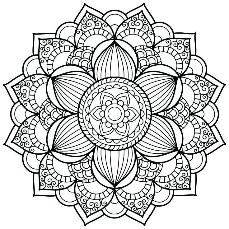 Mandala Drawing Online At Getdrawings Com Free For Personal Use