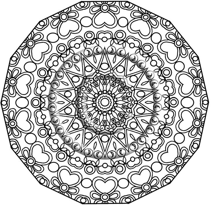 Mandala Drawing Pdf at GetDrawings | Free download