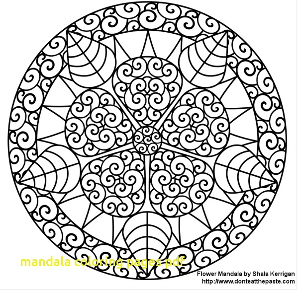 599x584 Mandala Coloring Pages Pdf With Print